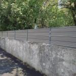 Brise vue composite/aluminium_Valentigney