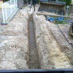 Canalisation d'eau pluviale_Villars sous Dampjoux