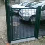 Portillon grillagé ht 1m20_Bourguignon