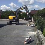 Démolition mur en aggloméré_Pont de Roide