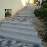 Escalier en blocs marche granit_Montandon