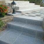 Habillage d'escalier avec dalle granit_Montandon