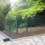 Clôture en panneaux rigides ht 1m20 gris anthracite_Montbéliard
