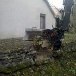 Démolition mur en pierre_Lanthenans