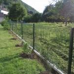 Clôture en panneaux rigides ht 1m20 avec soubassement béton_Villars sous Dampjoux
