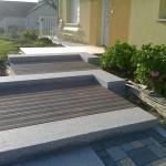 Escalier en blocs marche granit_Ecot