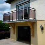 Habillage de balcon en granit_Dambelin