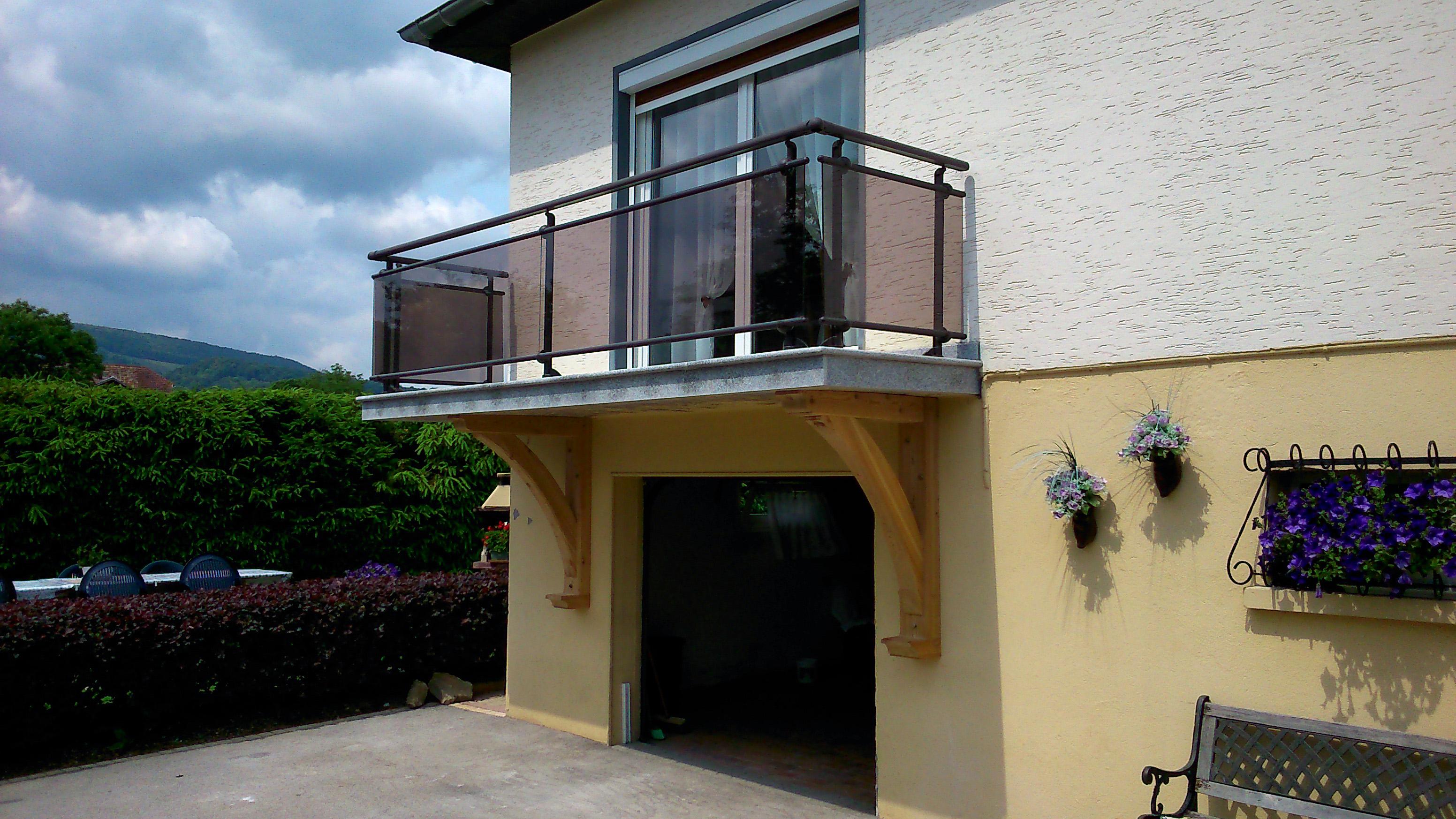 Dalles cassard - Habillage balcon ...