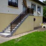 Habillage d'escalier en marches, contres marche en granit_Dambelin