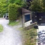 Entrée de cours en pavés_Montbéliard