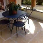 Terrasse en dalles Calcara_Dambenois