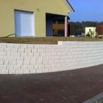 Mur de soutènement en blocs Vauban_Offemont
